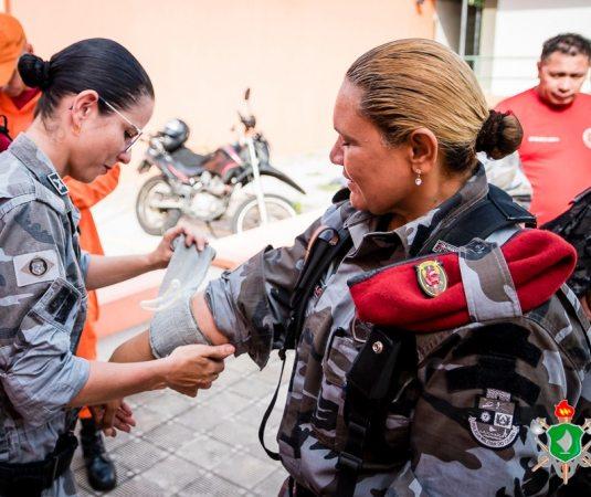 SOS Sul | Produto - SOS Sul apoia curso de APH Tático em Fortaleza