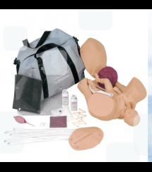 Manequim simulador de parto