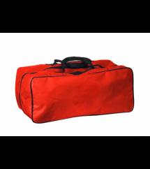 Bolsa para colar cervical e talas - Vermelha