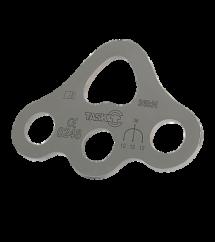 Placa de Ancoragem de aço Inox 1/3 36 kN